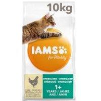 IAMS for Vitality Adult Light / Sterilised con pollo fresco  - 10 kg