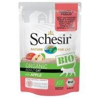 Schesir Bio bolsitas 6 x 85 g - Vacuno