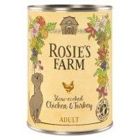 Rosie's Farm Adult 6 x 400 g  - Pollo y pavo