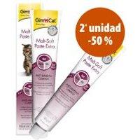 GimCat 2 x 50 g pastas en oferta: 2ª ud. al 50% - Malt-Soft Extra en pasta