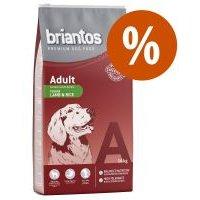 Briantos 12 / 14 kg pienso para perros ¡precio especial! - Sin cereales - Adult Pato y patata (12 kg)