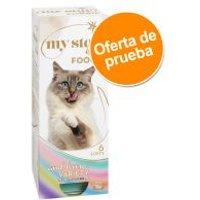 My Star is a Foodie para gatos - Pack de prueba - 30 x 90 g (4 variedades) - Pack Ahorro