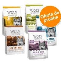 Wolf of Wilderness - Pack de Prueba - Soft & Strong 4 x 1 kg: pollo, vacuno, cordero y salmón