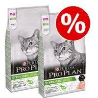 Purina Pro Plan 3 x 3 kg / 2 x 10 kg pienso para gatos - Pack Ahorro - Sterilised rico en pavo (2 x 10 kg)