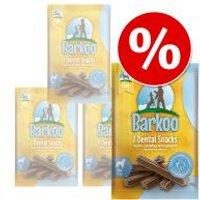 Pack Ahorro: Barkoo Dental snacks para perros - Perros pequeños (112 uds.)