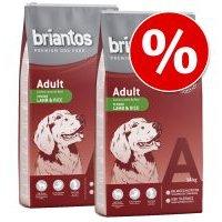 Briantos pienso para perros - Pack Ahorro - Adult Sin cereales Pato y patata (2 x 12 kg)