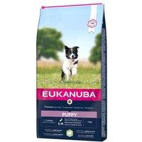 Eukanuba Puppy Small & Medium Breed Lamm & Reis - 12 kg