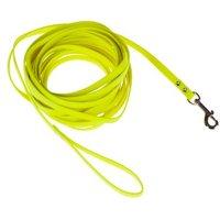 Heim BioThane® Suchleine, neon-gelb - 10 m lang, 13 mm breit