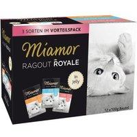 Miamor Ragout Royale - gemischtes Paket - 12 x 100 g Multi-Mix Cream (4 Sorten)