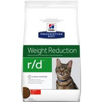 Hill's Prescription Diet r/d Weight Reduction Katzenfutter mit Huhn - Sparpaket: 2 x 5 kg