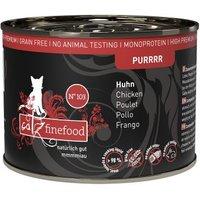 catz finefood Purrrr Dose 6 x 200 g - No. 103 Huhn