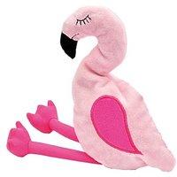 Aumüller Flamingo Pinky mit Baldrian und Dinkelspelz - 2 Stück