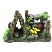 Aquatlantis Aquariendeko Maya Haus - 1 Stück
