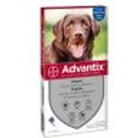 Advantix Spot-on per cani oltre 25 kg - Set %: 8 pipette (4,0 ml)