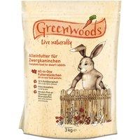 Greenwoods Dwarf Rabbit Food - 3kg