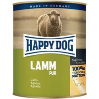 Lot Happy Dog Pur 12 x 800 g - dinde