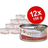 12x156g poulet, saumon, légumes Applaws - Nourriture pour chien