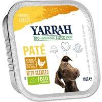 Yarrah Pâté Bio 6 x 150 g - bœuf, spiruline