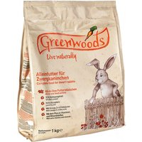 Greenwoods Dwarf Rabbit Food - 3kg