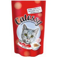 Catessy Crunchy Snacks Saver Pack 3 x 65g - with Poultry & Cheese