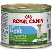Royal Canin Mini Saver Pack 24 x 195g - Adult Light Calorie Dilution