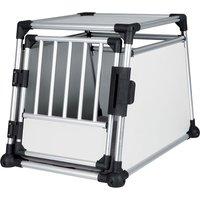 Trixie Aluminium Dog Crate - Size M: 63 x 90 x 65 cm (L x W x H)