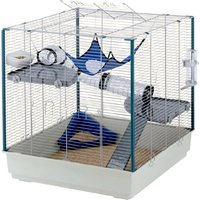 Ferplast Ferret Cage Furet XL - Grey: 80 x 75 x 86.5 cm (L x W x H)