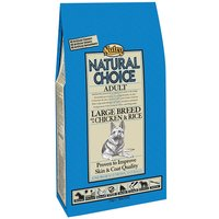Nutro Natural Choice Adult Large Breed Chicken & Rice - Economy Pack: 2 x 12kg