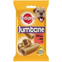 Pedigree Jumbone Mini - Beef - Saver Pack: 12 x 180g (Total 48 Snacks)