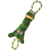KONG Tugger Knots Frog - Small/Medium
