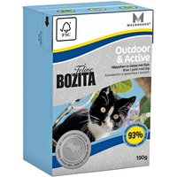 Bozita Feline Tetra Pak Package 6 x 190g - Indoor & Sterilised