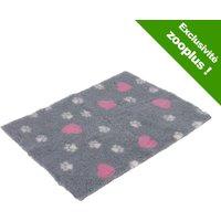 Tapis Vetbed® Isobed L100 l75cm cœurs & pattes pour chien - Tapis pour Chien
