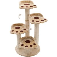 Bear Paw Cat Tree - Beige
