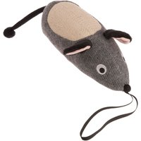 Jumbo-sized Toy Mouse with Scratch Pad - 1 Toy