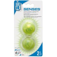 Catit Design Senses Illuminated Balls - 2 Balls