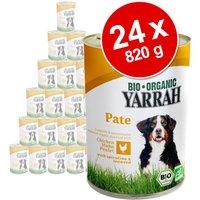 24x820g Poulet, bœuf, orties, tomates Yarrah - Nourriture pour chien