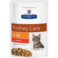 12x85g bœuf k/d Kidney Care pour chat Hill's Prescription Diet