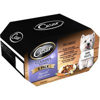 150g Cesar Wet Dog Food Trays - 6 + 2 Free!* - Country Kitchen Favourites (8 x 150g)
