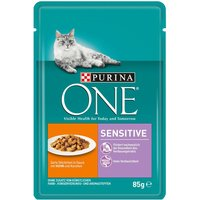 Purina ONE Sensitive - 8 x 85g Chicken