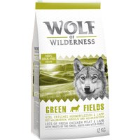 Wolf of Wilderness Economy Pack 2 x 12kg - Adult Wild Hills - Duck