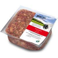 8x1000g Mélange BARF Bœuf Select + 10% de fruits & légumes proCani