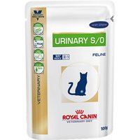 Royal Canin Veterinary Diet Cat - Urinary S/O Chicken - Saver Pack: 48 x 100g