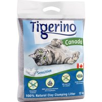Tigerino Canada Cat Litter Sensitive - Economy Pack: 2 x 12kg