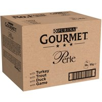 Gourmet Perle Pouches Mixed Mega Pack 96 x 85g - Chefs Collection in Gravy