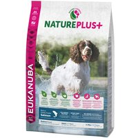 Eukanuba NaturePlus+ Medium Adult Salmon - Economy Pack: 2 x 14kg