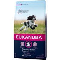 Eukanuba Growing Puppy Medium Breed Chicken - Economy Pack: 2 x 15kg