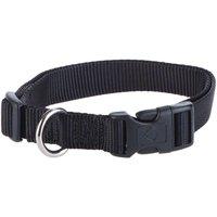 Hunter Vario Basic Ecco Sport Dog Collar - Black - Size XS: 22-34cm neck circumference