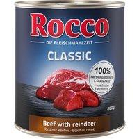 Rocco Classic 6 x 800 g - bœuf, renne