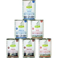 Isegrim Adult Mixed Pack 6 x 400g - Mixed Pack 2: Goose & Trout