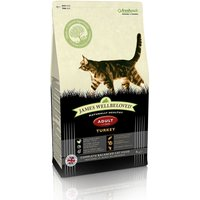 James Wellbeloved Dry Cat Food Economy Packs - Senior 7+ Cat - Turkey 2 x 4kg